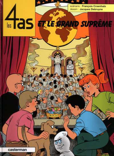 Cover for Les 4 as (Casterman, 1964 series) #41