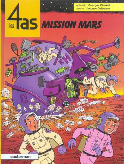 Cover for Les 4 as (Casterman, 1964 series) #42