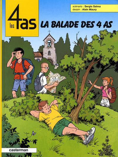 Cover for Les 4 as (Casterman, 1964 series) #43