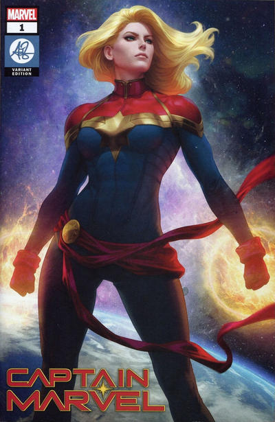 Cover for Captain Marvel (Marvel, 2019 series) #1 [Comic Sketch Art Exclusive - Mark Brooks]