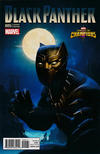 Cover for Black Panther (Marvel, 2016 series) #5 [Incentive KABAM Contest of Champions Game Variant]