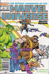 Cover for The Official Handbook of the Marvel Universe (Marvel, 1985 series) #5 [Canadian]