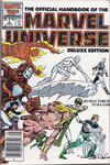 Cover for The Official Handbook of the Marvel Universe (Marvel, 1985 series) #6 [Canadian]