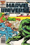 Cover Thumbnail for The Official Handbook of the Marvel Universe (1985 series) #15 [Newsstand]