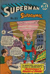 Cover for Superman Supacomic (K. G. Murray, 1959 series) #83