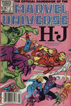 Cover Thumbnail for The Official Handbook of the Marvel Universe (1983 series) #5 [Canadian]