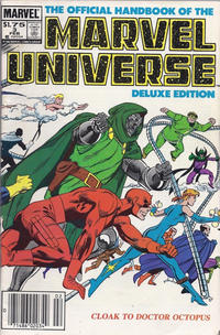 Cover Thumbnail for The Official Handbook of the Marvel Universe (Marvel, 1985 series) #3 [Canadian]