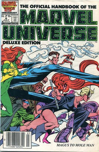 Cover Thumbnail for The Official Handbook of the Marvel Universe (Marvel, 1985 series) #8 [Canadian]