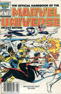 Cover Thumbnail for The Official Handbook of the Marvel Universe (Marvel, 1985 series) #9 [Canadian]