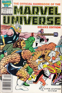Cover Thumbnail for The Official Handbook of the Marvel Universe (Marvel, 1985 series) #13 [Newsstand]