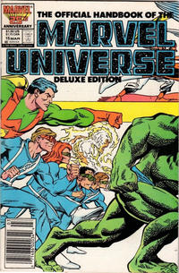 Cover Thumbnail for The Official Handbook of the Marvel Universe (Marvel, 1985 series) #15 [Newsstand]