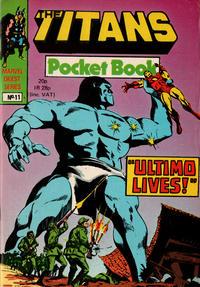 Cover Thumbnail for Titan Pocket Book (Marvel UK, 1980 series) #11