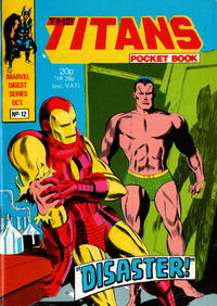 Cover Thumbnail for Titan Pocket Book (Marvel UK, 1980 series) #12