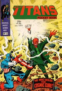 Cover Thumbnail for Titan Pocket Book (Marvel UK, 1980 series) #13