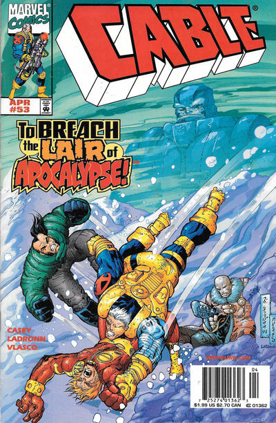 Cover for Cable (Marvel, 1993 series) #53 [Newsstand]