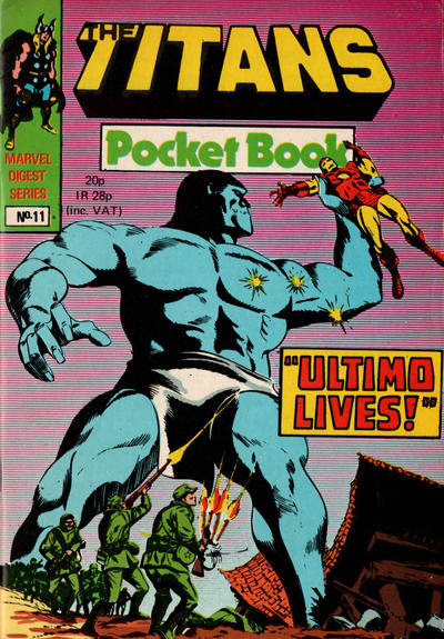 Cover for Titan Pocket Book (Marvel UK, 1980 series) #11