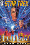 Cover for Star Trek: Year Five (IDW, 2019 series) #1 [Regular Cover]