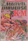 Cover Thumbnail for The Official Handbook of the Marvel Universe (1983 series) #6 [Newsstand]