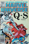 Cover Thumbnail for The Official Handbook of the Marvel Universe (1983 series) #9 [Canadian]