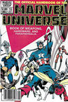 Cover Thumbnail for The Official Handbook of the Marvel Universe (1983 series) #15 [Newsstand]