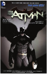 Cover Thumbnail for Batman (DC, 2013 series) #2 - The City of Owls