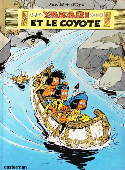 Cover for Yakari (Casterman, 1977 series) #12 - Yakari et le coyote