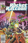 Cover Thumbnail for Rocket Raccoon (1985 series) #1 [Newsstand]