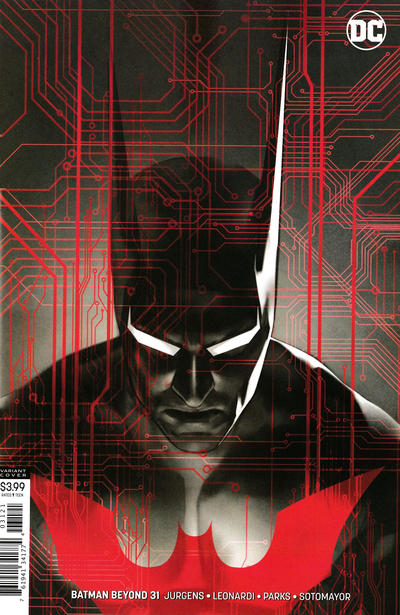 Cover for Batman Beyond (DC, 2016 series) #31 [Ben Oliver Cover]