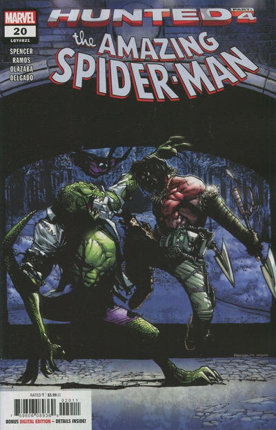 Cover for Amazing Spider-Man (Marvel, 2018 series) #20 (821) [Variant Edition - Mark Bagley Cover]