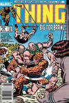 Cover for The Thing (Marvel, 1983 series) #26 [Newsstand]