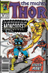 Cover Thumbnail for Thor (1966 series) #391 [Newsstand]