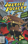 Cover Thumbnail for Justice Society of America (1992 series) #1 [Newsstand]