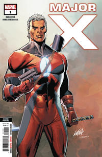 Cover Thumbnail for Major X (Marvel, 2019 series) #1 [Second Printing - Rob Liefeld]