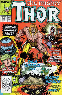 Cover for Thor (Marvel, 1966 series) #389 [Direct]