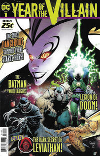 Cover Thumbnail for DC's Year of the Villain Special (DC, 2019 series) #1 [Greg Capullo Cover]