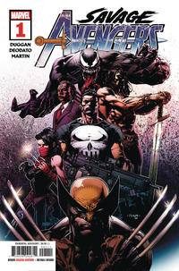 Cover Thumbnail for Savage Avengers (Marvel, 2019 series) #1 [David Finch]