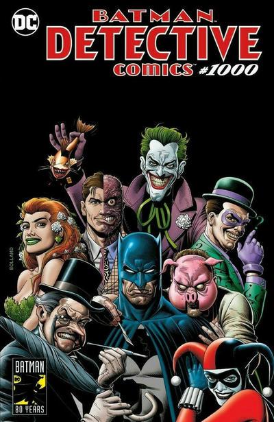 DETECTIVE COMICS 1000 DAWN McTEIGUE TRADE VARIANT BATMAN HARLEY QUINN CATWOMAN