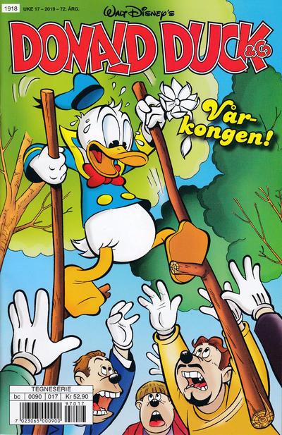 Cover for Donald Duck & Co (Hjemmet / Egmont, 1948 series) #17/2019