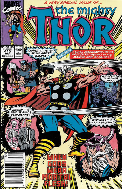 Cover for Thor (Marvel, 1966 series) #415 [Direct]