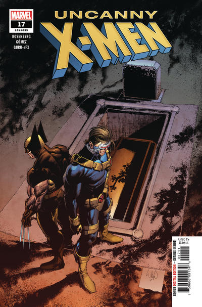 Cover for Uncanny X-Men (Marvel, 2019 series) #17 (639)