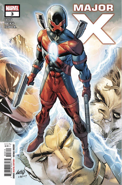 Cover for Major X (Marvel, 2019 series) #3