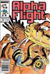Cover Thumbnail for Alpha Flight (1983 series) #49 [Newsstand]