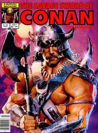 Cover Thumbnail for The Savage Sword of Conan (Marvel, 1974 series) #102 [Newsstand]