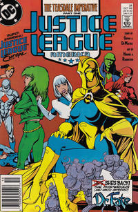 Cover Thumbnail for Justice League America (DC, 1989 series) #31 [Newsstand]