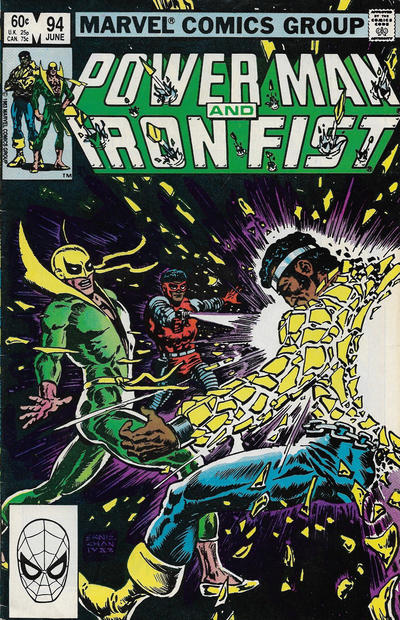Cover for Power Man and Iron Fist (Marvel, 1981 series) #94 [Newsstand]