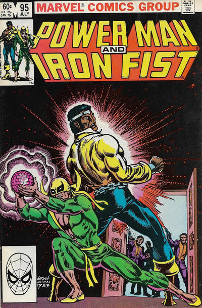 Cover for Power Man and Iron Fist (Marvel, 1981 series) #95 [Newsstand]