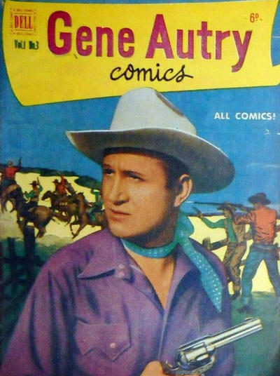 Cover for Gene Autry Comics (World Distributors, 1951 series) #3