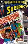 Cover for Superboy (DC, 1990 series) #13 [Newsstand]