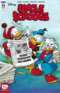 Cover Thumbnail for Uncle Scrooge (IDW, 2015 series) #44 / 448 [Retailer Incentive Cover - Alessandro Perina]