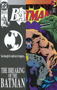 Cover Thumbnail for Batman (DC, 1940 series) #497 [Second Printing]